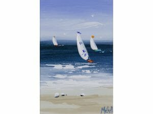 A Trio of Sailing Boats